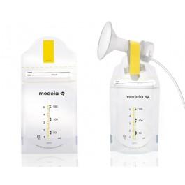 Medela Pump & Save - säilituskotid rinnapiimale 20tk