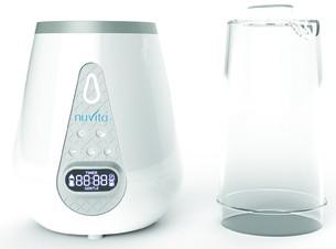 Nuvita digitaalne pudelisoojendaja koos sterilisaatoriga
