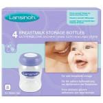 Lansinoh ® pudelid 160ml (4tk) säilitustopsid