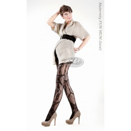 Lace tights 20den