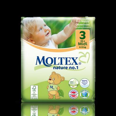 Mähkmed Moltex Nature Nr3 (4-9kg) 34tk