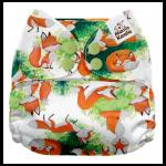Mama Koala® taskumähe (ühes suuruses) porgandid, rebased